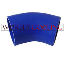 Blue Silicone Hose 45 degree Bend Elbow 3 inch 76mm Silicon Intake Tube pipe