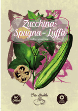 zucchina spugna luffa,luffa cylindrica,semi rari,semi strani, gr 1 10/15 semi