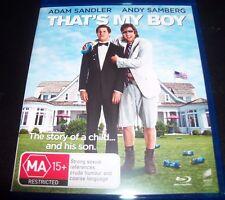 That's My Boy (Adam Sandler Andy Samberg) (Aust Region B) Blu-Ray – Like New
