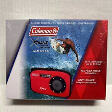 Coleman Xtreme 16MP Waterproof, Anti- Shake, & Dust-Proof Digital Camera, Blue