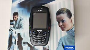 Nokia 6600 - Black (Unlocked) Smartphone Rare
