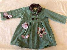 Powell Craft Nursery Girls Corduroy Coat Size 1-2 Years