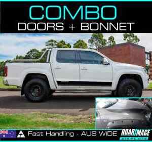 2011-2020 VW Volkswagon Amarok COMBO doors & bonnet stripes decals stickers