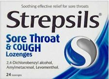 STREPSILS SORE THROAT & COUGH  24 LOZENGES