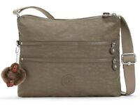 kipling Basic Eyes Wide Open Alvar Medium Shoulderbag True Beige Braun Neu