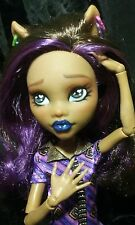 OOAK Monster High Clawdeen Wolf Collector Doll Repaint by artist J.S.A.L.