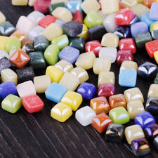 "3/8"" Mini Colorful Vitreous Glass Mosaic Tiles Wall Crafts Various Mixture Drops"