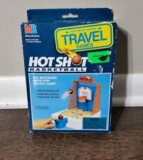 1992 Hot Shot Basketball Milton Bradley Travel Game No Batteries Unused