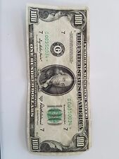 1950D $ 100 One Hundred Dollar Bill great condition.