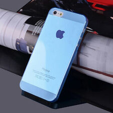 For Apple iPhone 5 5S Ultra Thin Glossy Clear Transparent Back Case Cover Skin