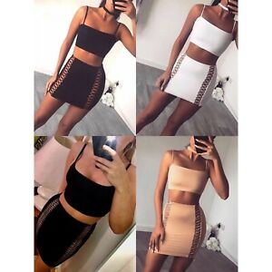 Cut-out skirt and top. £15. Available in black, nude or white. Sizes S-L (6-8/8-