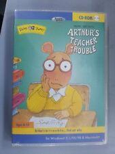 Arthur's Teacher Trouble Living Book On CDROM MAC & PC