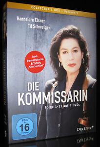 DVD DIE KOMMISSARIN - VOLUME 1 - Folge 1 - 13 - HANNELORE ELSNER + TIL SCHWEIGER