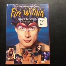 Cirque du Soleil Fire Within Award Winning Series and Varekai 4 DVD set NEW