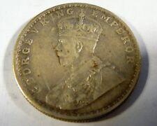India 1913 Silver One Rupee SB1