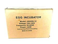 Janoel12  9-12 Digital Fully Automatic Egg Incubator and Turner