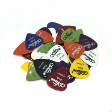 New 50pcs Guitar Picks Acoustic Electric Plectrums Celluloid Assorted Colors Us