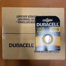 100 x Duracell CR1616 3V Lithium Coin Cell Battery DL1616 1616 LONGEST EXPIRY