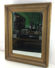 Traditional Style Reeded Gilt Fame Wall Mirror Lot 2352