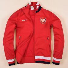 Nike Herren Sweater Sweat Tracktop Gr.S Arsenal London Rot, 69780