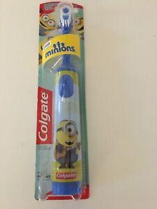 Kids Colgate Minion Electric Toothbrush