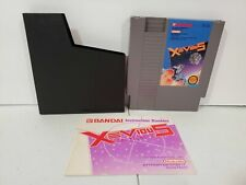 Xevious for NES with Manual and Sleeve