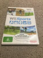 Nintendo Wii Sports Game PAL Complete Mixed Sports Baseball Bowling Golf Boxing