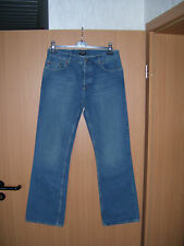 Polo by Ralph Lauren Bootcut Herren Jeans Hose Knopfleiste blau W34 L34 NEU