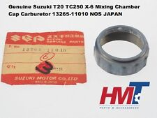 Genuine Suzuki T20 TC250 X-6 Mixing Chamber Cap Carburetor 13265-11010 NOS JAPAN