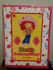 "Vintage Strawberry Shortcake Poster, Berry Scrumptious!  21"" x 28"", Nice!  2007"