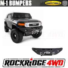 Smittybilt Front D-Ring Winch Bumper & Light Kit for 07-15 Toyota FJ Cruiser
