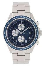 Gigandet Racetrack Herrenuhr Chronograph Datum Edelstahlarmband Silber G24-004