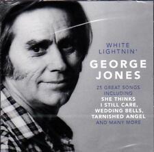 GEORGE JONES - WHITE LIGHTNIN' (NEW SEALED CD)