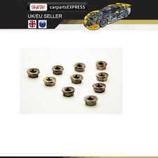 OPEL M8 CARS EXHAUST MANIFOLD NUTS HEAD STUD HEX COOPER SELF LOCKING