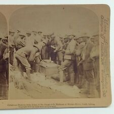 Underwood Christmas Presents From Home Stereograph Slide 3D Real Photograph J041
