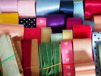 20 Meter Bänderpaket Webbänder Satinband Samtband Chiffonband Ripsband DIY