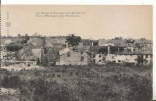France Postcard - Les Ruines De Romagne-Sous-Montfaucon - Ref 16550A