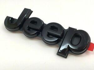 2019 2020 2021 Jeep Cherokee rear liftgate black Nameplate Emblem new OEM