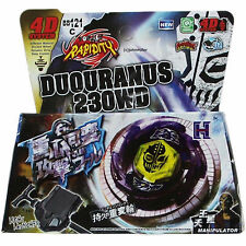 Beyblade Duo Uranus Ice-Titan Starter Set Launcher & Ripcord in RETAIL PACKAGING