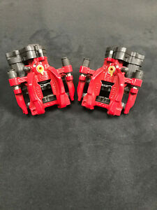 FOR VW GOLF R MK7 GTI CLUBSPORT EDITION REAR ELECTRIC BRAKE CALIPERS MOTOR PADS