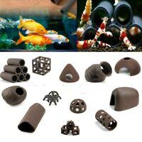 Aquarium Tank Deko Pflanze Fisch Garnele Laichen Zucht Höhle Ornament Zubehör