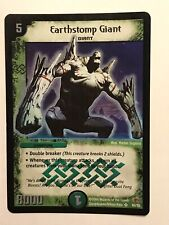 Earthstomp Giant Duel Masters DM03 Super Rare card TCG CCG