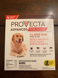 Provecta-Extra Large Dog 4 month supply