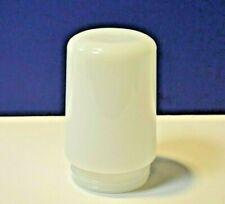 "White 3-1/4"" Threaded Fitter Milk Glass Opal Vapor Jar G13-3001G New Replacement"