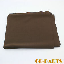 Brown Acoustic Speaker Grill Cloth Fabric Front Protect dust proof  0.5x1.8m/lot