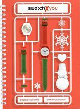 Swatch X you Uhrenkatalog 2017 GB Prospekt Uhren catalog watches montres Katalog