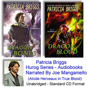 Patricia Briggs Audio Books, Hurog, Joe Manganiello