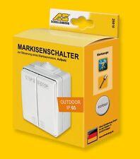 Schellenberg 25010 Markisenschalter Außenbereich Markise Bedienung Schalter NEU