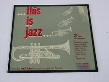 "This is Jazz All Star Stompers Rudi Blesh L 402 Set 1 10"" LP"