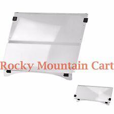 EZGO TXT 1994-2013 golf cart Clear Acrylic Folding Windshield - Free Freight